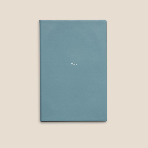 Calendar Work Life M 2017 Pigeon Blue
