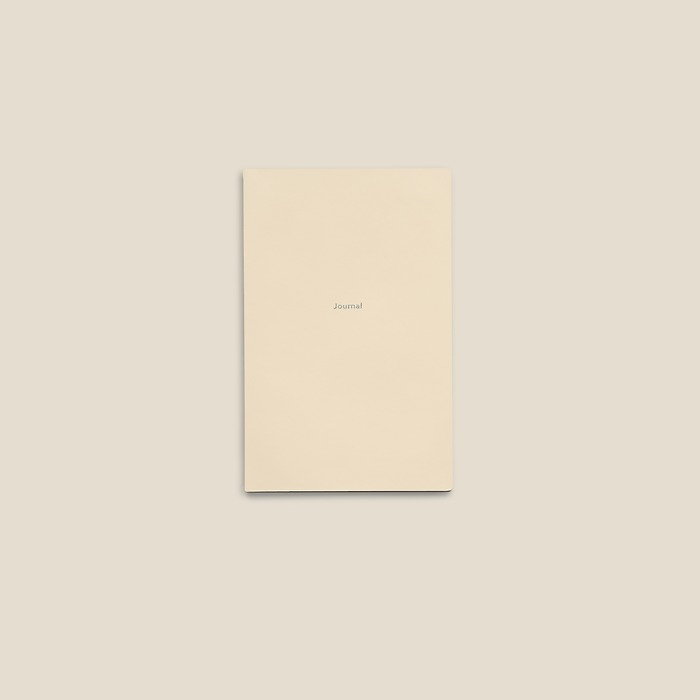 Notebook Journal S ruled White Truffle