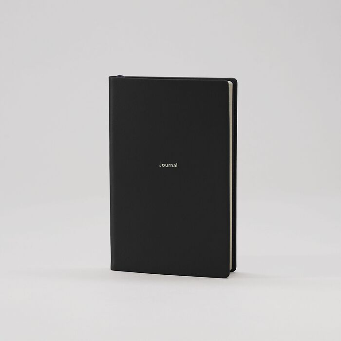 Journal S Notizbuch blanko Nero