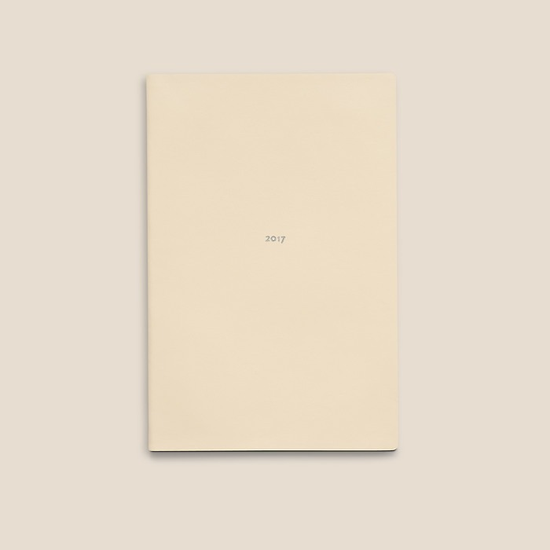Calendar weekly M 2017 White Truffle