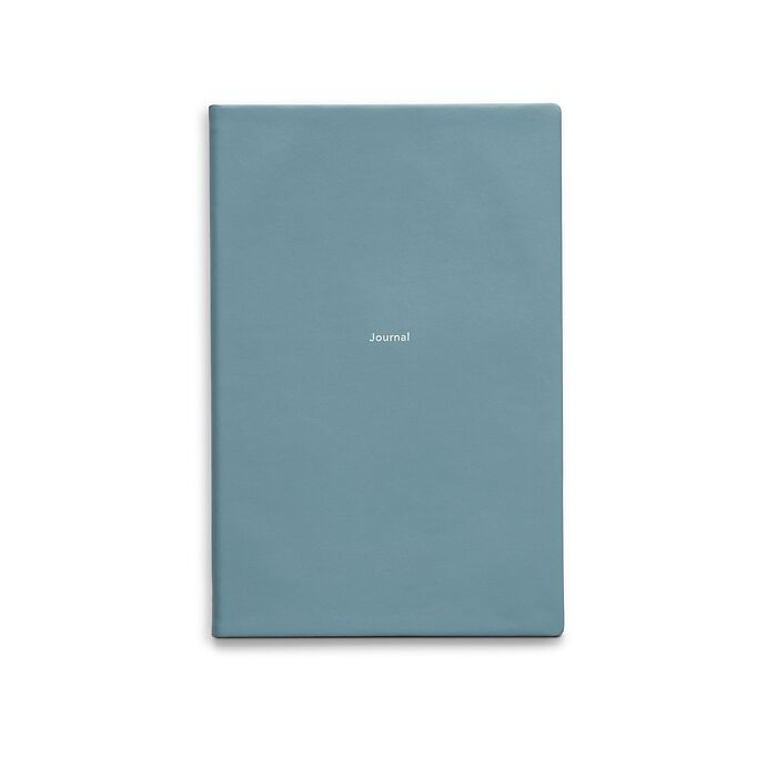 Journal M Notizbuch blanko Pigeon Blue