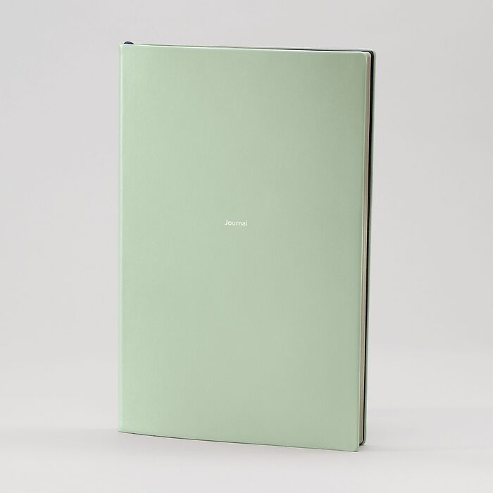 Journal L Notizbuch blanko Cool Mint