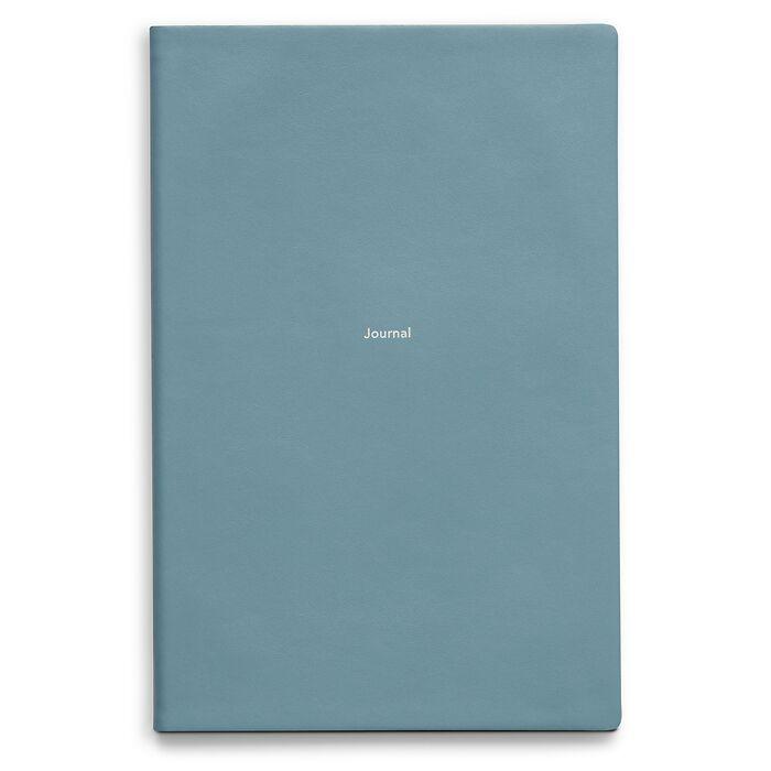 Notebook Journal L plain Pigeon Blue