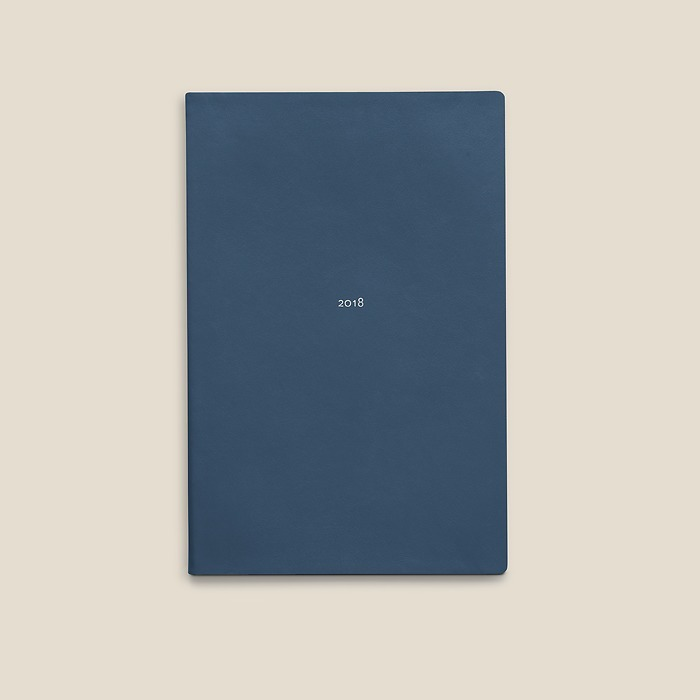 Weekly Calendar M 2018 Prussian Blue