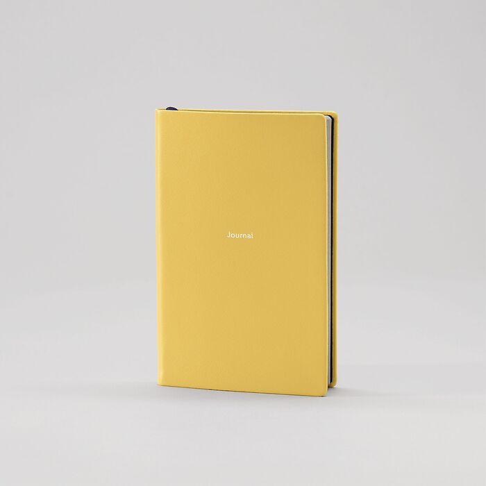 Journal S blanko Mustard
