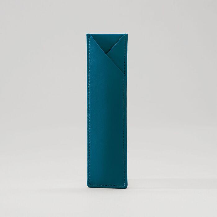 Pen Sleeve Petrol Green