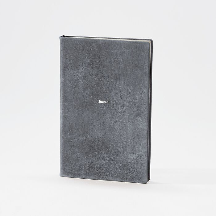 Journal M Notizbuch blanko Nubuck Greyhound