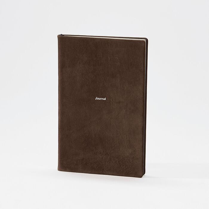 Journal M Notizbuch blanko Arabica Nubuck