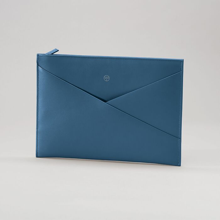Envelope Pouch Wallaby Prussian Blue