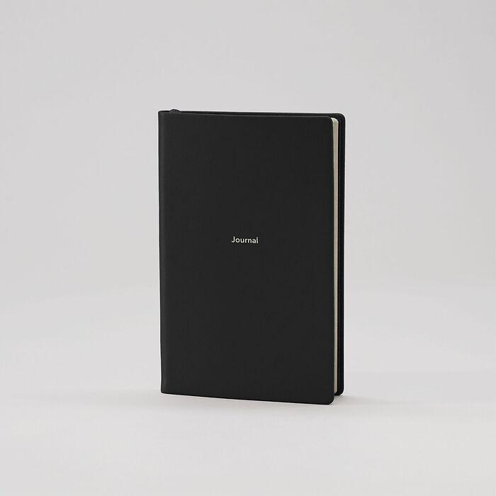 Journal S Notizbuch liniert Nero