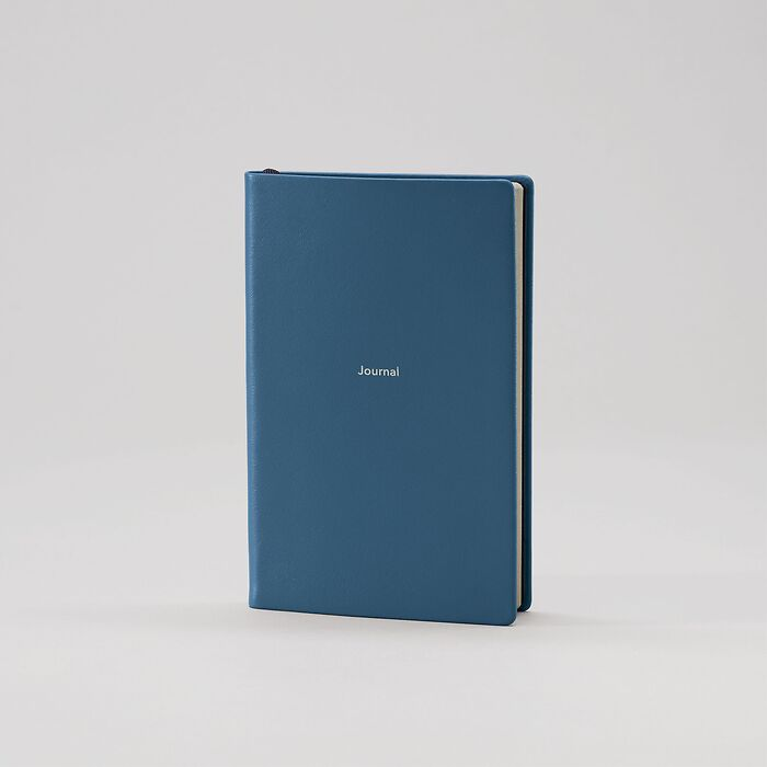 Journal S Notizbuch liniert Prussian Blue