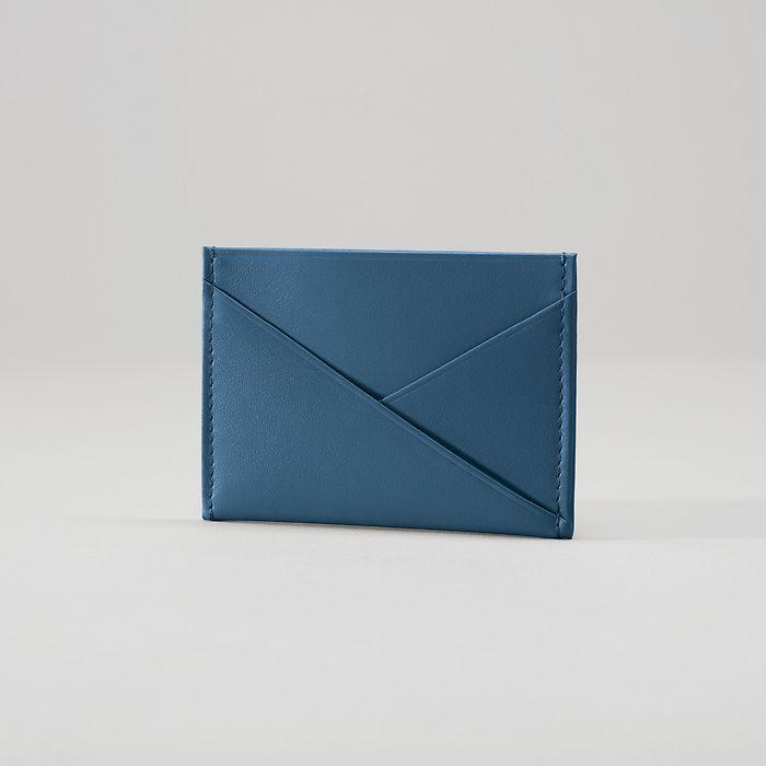 Credit Card Caddy Prussian Blue