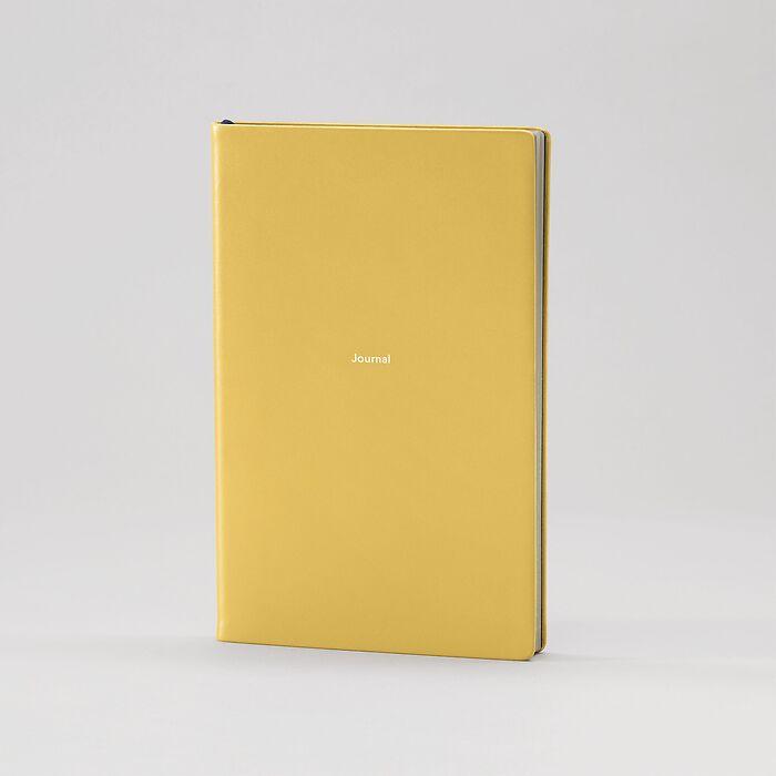 Journal M Notizbuch blanko Mustard