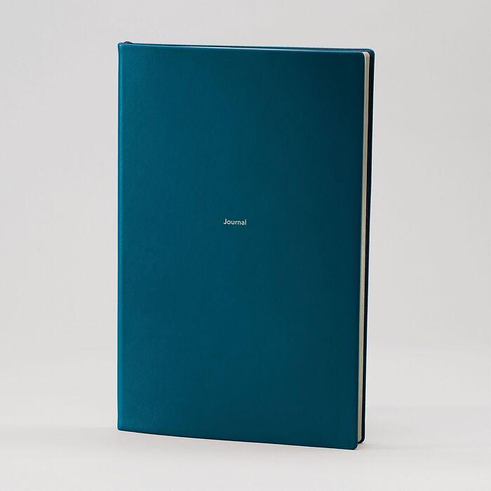 Journal L Notizbuch liniert  Petrol Green