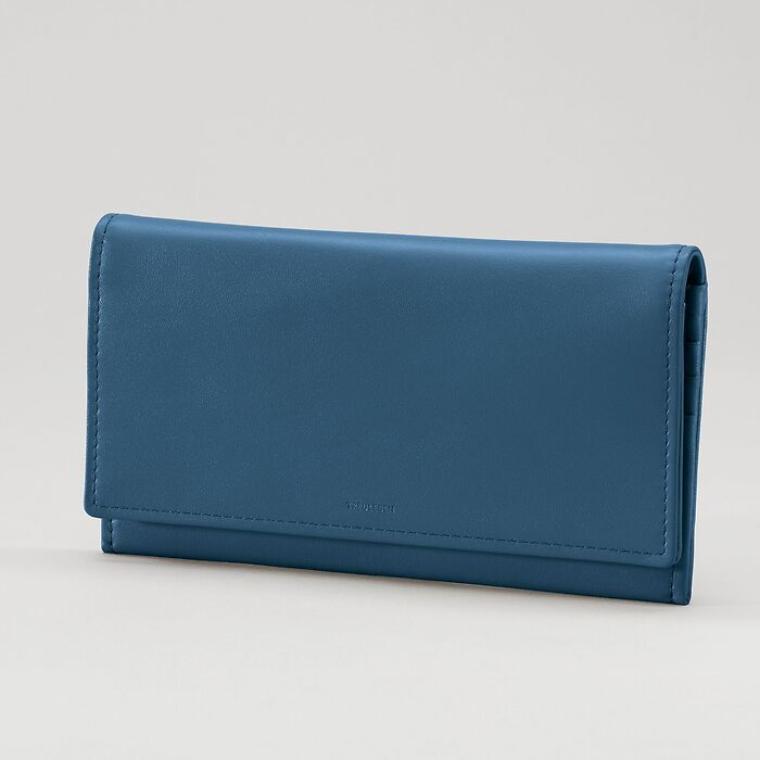 Portemonnaie Wallis Prussian Blue